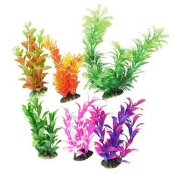 Como Aquarium Plastic Plant Decoration