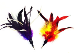 Multi Feather Interactive Cat Toy