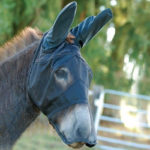 Cashel Quiet Ride Fly Mask for Mule Donkey
