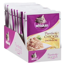 WHISKAS Purrfectly Chicken Entree
