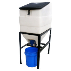 270 gallon Feed Bin with Stand