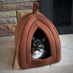Petmaker Cozy Kitty Tent & Top 3 Cozy Cat Tents under $20 | Animals Small and Big