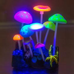 Govine Aquarium Glowing Decorations for Fish Tank