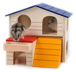 Bwogue Small Deluxe Hamster House