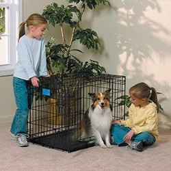 MidWest Folding Metal Crate for Dogs