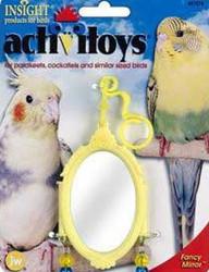 JW Pet Fancy Mirror Bird Toy
