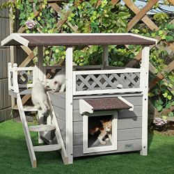 Petsfit Outdoor Weatherproof Cat House